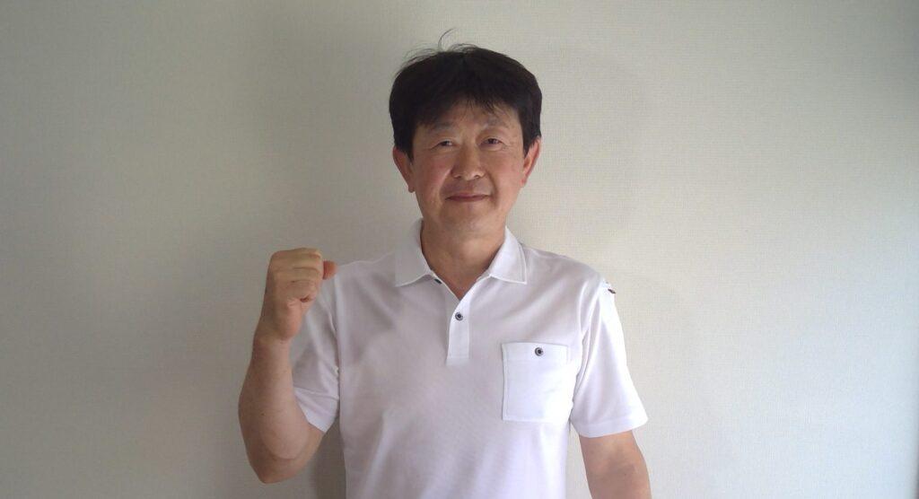 「荻野 昌道 (おぎの まさみち)」の顔写真