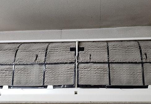 「エアコンクリーニング」の施工前写真