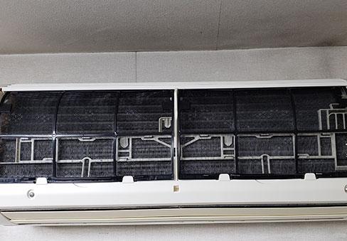 「エアコンクリーニング」の施工後写真
