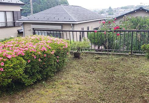 「庭のお手入れ」の施工後写真