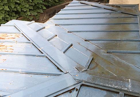 「屋根塗装」の施工前写真